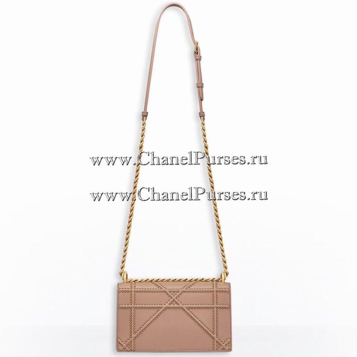 Dior DIORAMA BAG IN POWDER PINK STUDDED LAMBSKIN - ChanelPurses.ru Top Brand Replica online Store