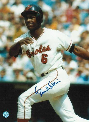 Paul Blair Baltimore Orioles Autographed 8x10 Photo