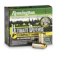 Remington, .40 S&W, BJHP, 180 Grain, 20 Rounds: Remington, .40 S&W, BJHP, 180 Grain, 20 Rounds #Hunting #Shooting #Fishing #Camping