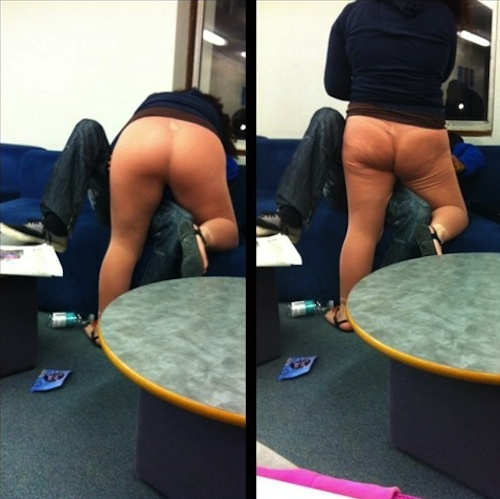 Your Pants Look Like Skin | Tosh.0 Blog: Laughing, Flesh Color, Color Legs, Good Ideas, Funny Stuff, Flesh Ton, Humor, Yoga Pants, Leggings