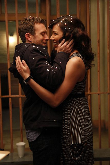 Angela Montenegro & Dr. Jack Hodgins | Bones (2005 - )  #michaelaconlin #tjthyne #couples-- one happy couple down one to go