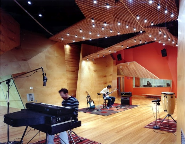 Music studio interior design effigy studios music studio for Music studio design software