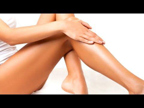 Piernas sedosas.Tratamiento para las irritaciones después de la depilación. - YouTube