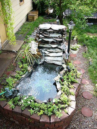 Outdoor Above-Ground Pond   Flickr - Photo Sharing!