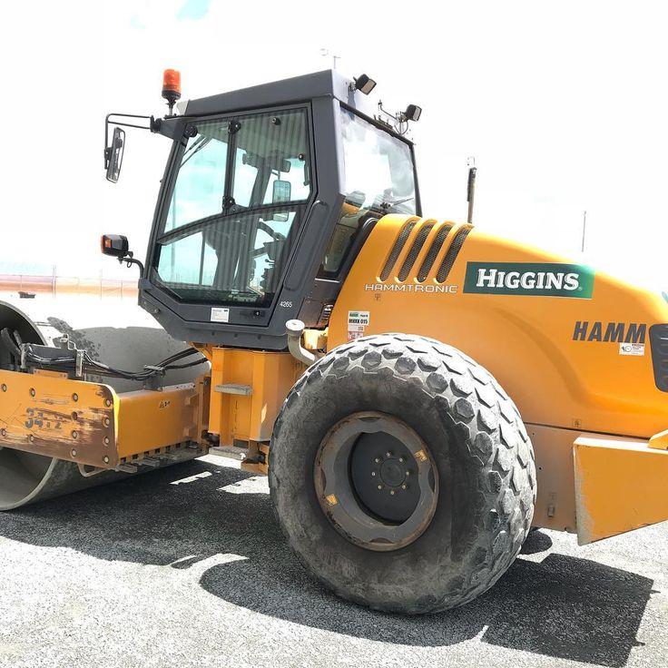 #higgins #hamm #roller #construction #constructionworker #auckland #newzealand #aotearoa #