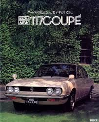 Isuzu 117 coupé - brochure