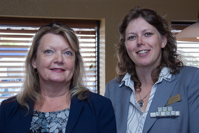 After hours meeting with Newmarket Chamber of Commerce. Debbie Merseneau, Job Skills and   Zoe Clements, Touch Typing 4 Life