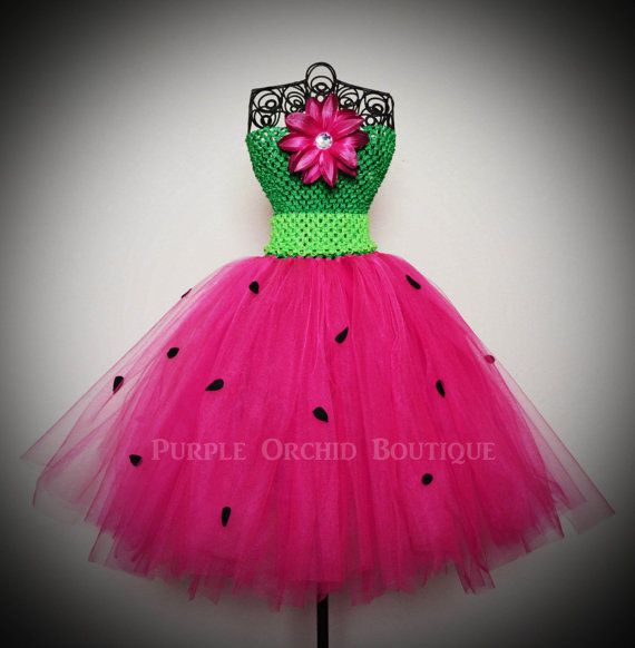 Fresh Picked Watermelon Tutu Dress  CHILD by PurpleOrchidBoutique, $24.99