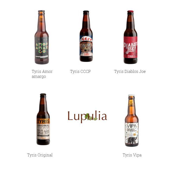 Las cervezas artesanas de Tyris con un precio especial en los Jueves Cerveceros. ¡Aprovecha la promoción!