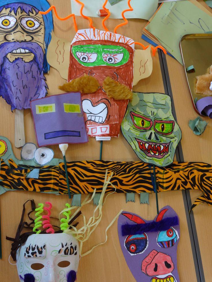 Masks created