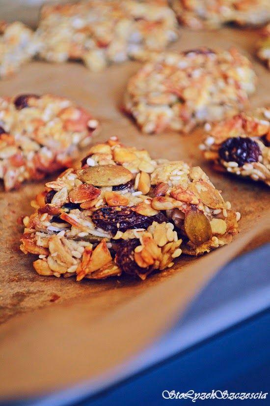 Sto łyżek szczęścia: Ciasteczka owsiane - granola