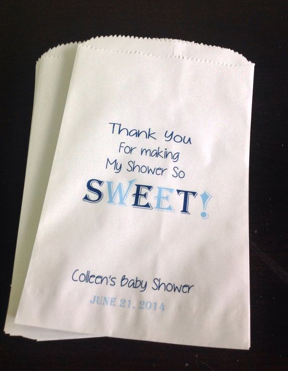 Baby Shower Candy Buffet Bags Weddings by SweetLoveCandy on Etsy, $15.50