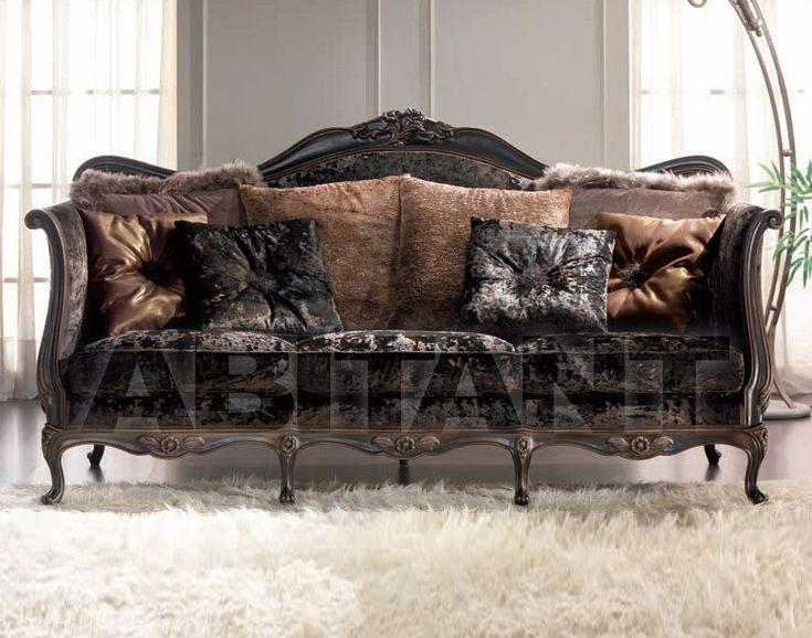 Диван темно-серый Gold Confort mistery black , каталог мягкой мебели: фото, заказ, доставка - ABITANT , Москва
