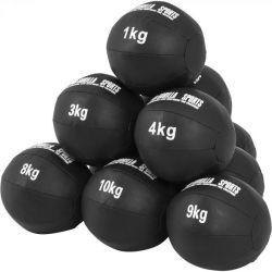 Nahkainen kuntopallo 1-10kg, 49,95€ Saatavilla olevat koot: 1 - 10kg. Ilmainen toimitus! #kuntopallo