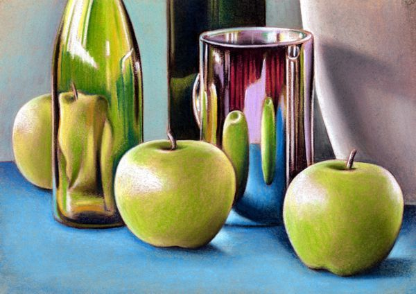 Still Life Techniques - Pastel Drawing