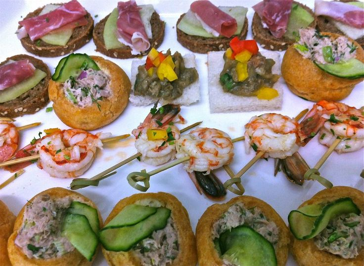 Finger Food ideas By Spicy Bites Catering & Events Santorini ...