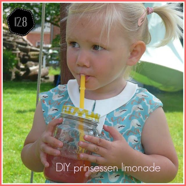 DIY roze limonade #limonade #DIY #honderdachtentwinig
