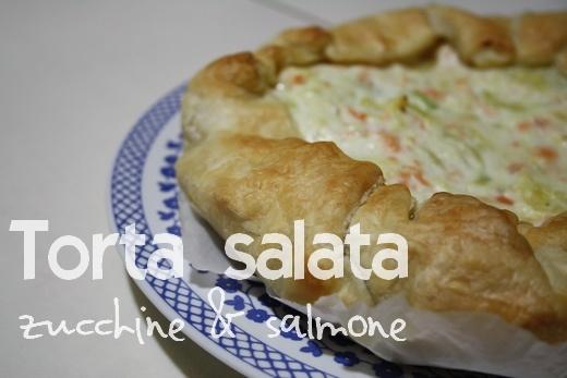 Zucchini and salmon quiche  http://suamilove.blogspot.it/2012/05/prove-in-cucina-torta-salata-zucchine-e.html