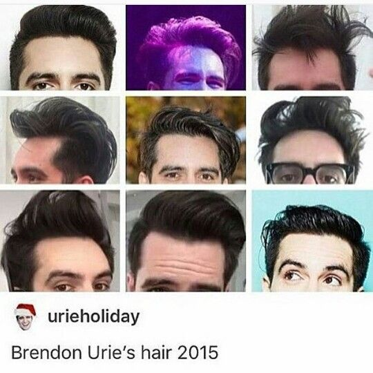 Brendon Urie Hair Evolution