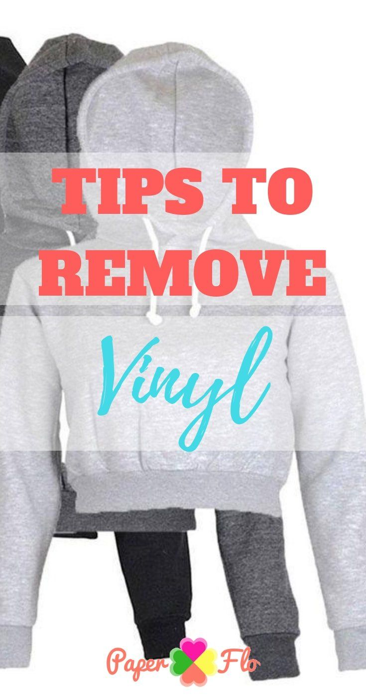 a3d940071 How can you remove heat transfer vinyl from clothing? It may seem like the  design is permanent, but all hope is not lost, there is an easy way to do  it.