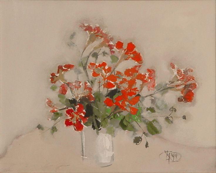 Title: Flori VI / Style: Acrylic on Canvas