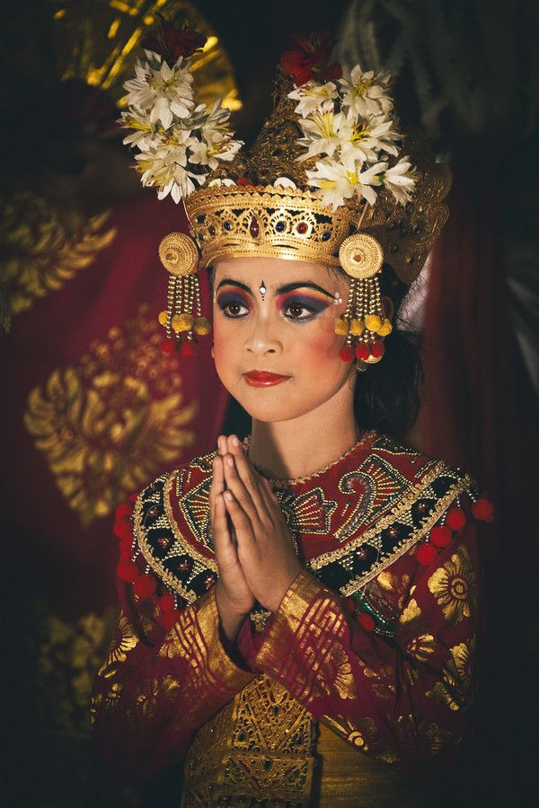 Balinese Dancer after a performance