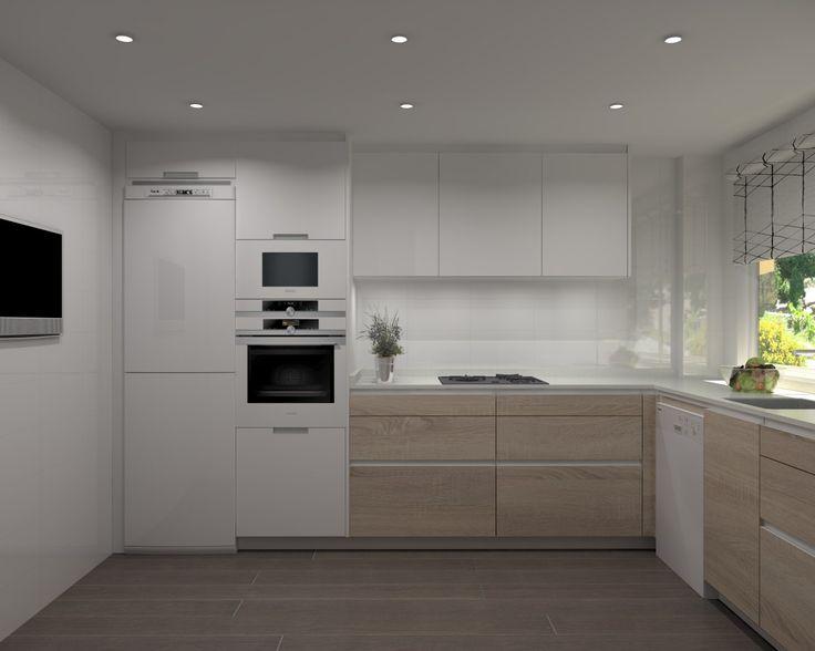 Best 25 cocinas modulares ideas on pinterest casas y planos casas con planos and planos de - Cocinas modulares ...