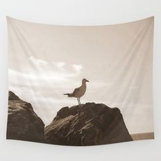 Bird's eye View! Wall Tapestry