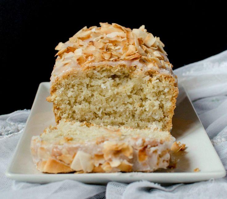 {Vegan Coconut Loaf Cake} - Chec cu nuca de cocos - de post!
