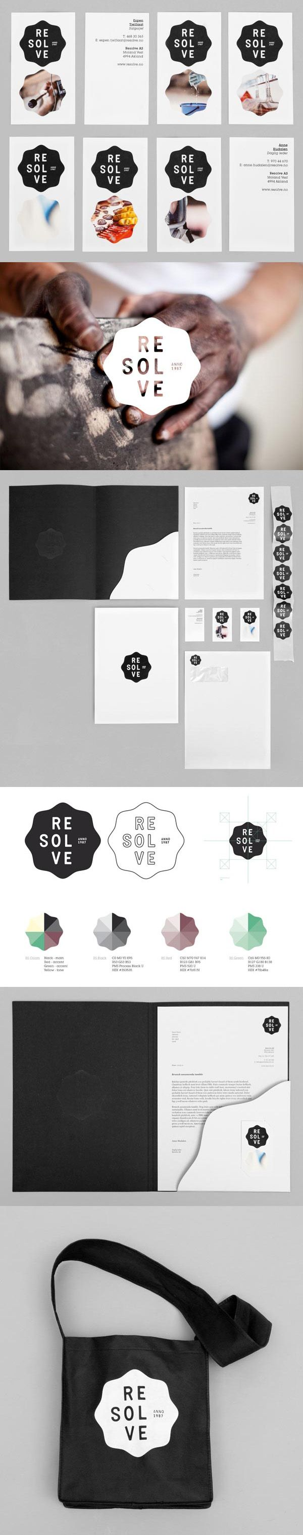 Resolve – Visual Identity Design by Neue | #stationary #corporate #design #corporatedesign #identity #branding #marketing < repinned by www.BlickeDeeler.de | Take a look at www.LogoGestaltung-Hamburg.de