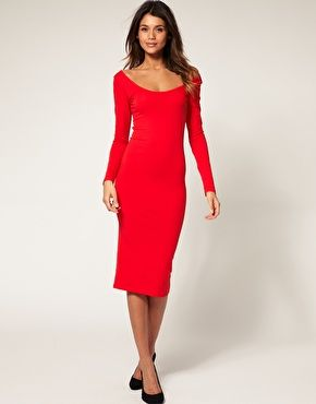 Reminds me of something the Elizabeth Hurley character on Gossip Girl would wear...so I guess this one's for channeling my inner cougar :-)