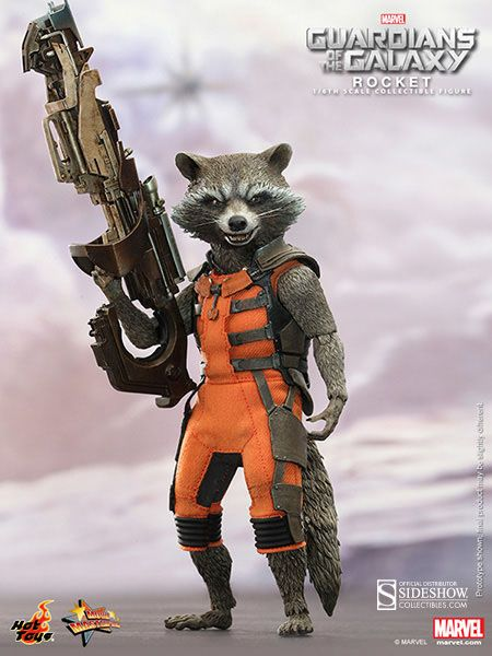 Les Gardiens de la Galaxie figurine Movie Masterpiece 1/6 Rocket Hot Toys