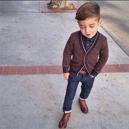 Representando os meninos, Alonso Mateo, dos EUA, mostra que é possível ser criança e se manter estiloso: