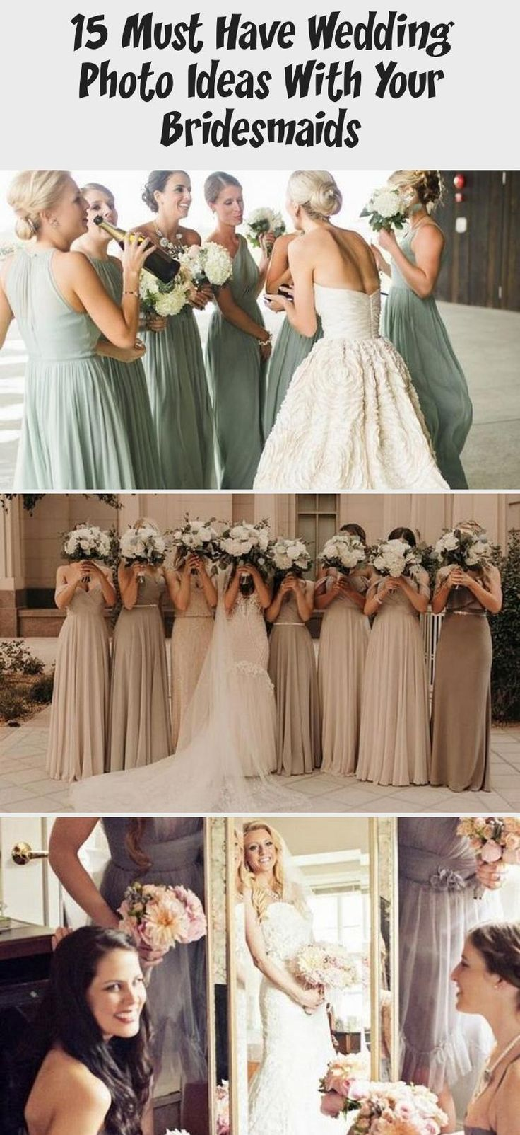 neutral colored bridesmaid dresses #BridesmaidDresses2019 #WhiteBridesmaidDresses #CasualBridesmaidDresses #BridesmaidDressesLong #SageBridesmaidDresses