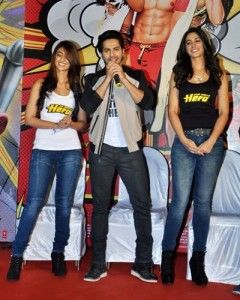 Main Tera Hero Movie is upcoming bollywood comedy and romance movie which is directed by David Dhawan and produced by Shobha Kapoor, Ekta Kapoor and Alpana Mishra. Music is given by Sajid-Wajid . And star cast of the movie is Varun Dhawan ,Ileana D'Cruz and Nargis Fakhri.