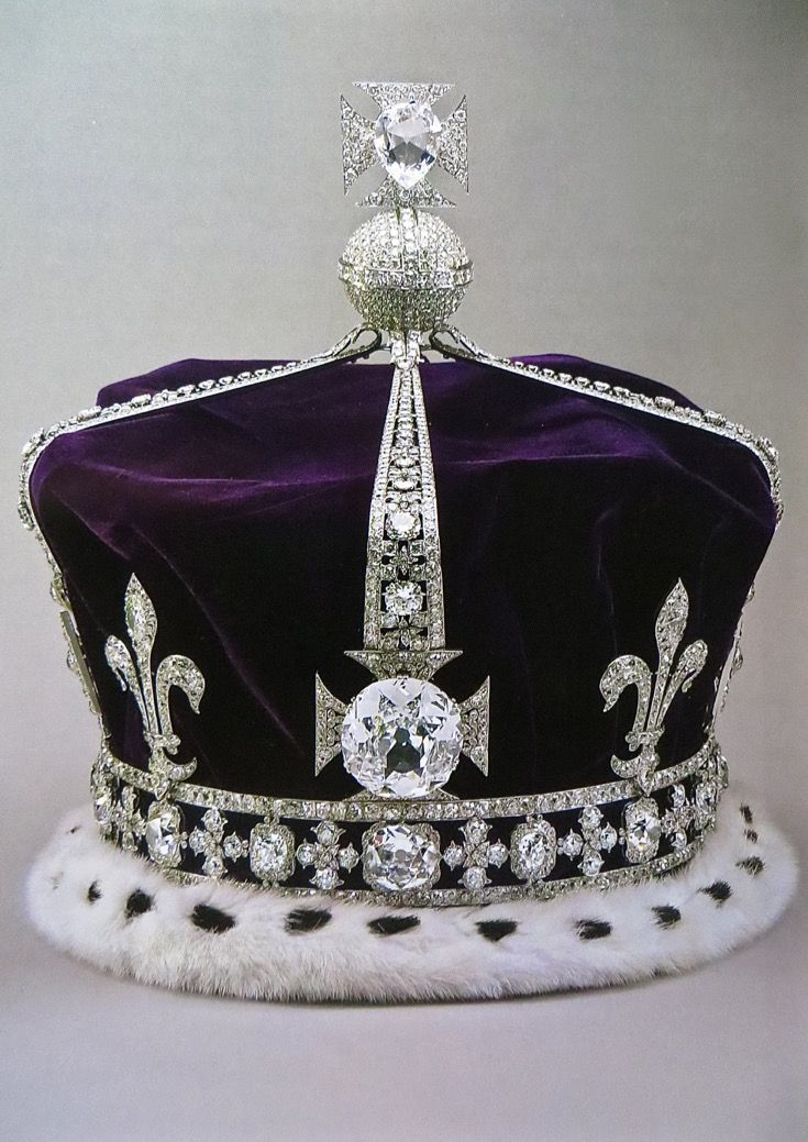 THE CROWN OF the late, QUEEN ELIZABETH, THE QUEEN MOTHER ...