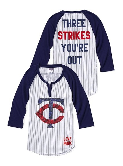 Here's to cheering on my favorite major league baseball team ;)  Target Field and Joe Mauer, look out!