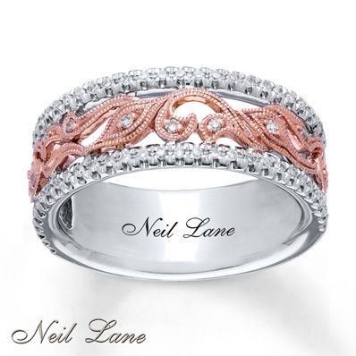 I saw this in the local Jared and pictures do not do it justice. I will have it this year.   Neil Lane Ring 1/5 ct tw Diamonds Sterling Silver/14K Gold