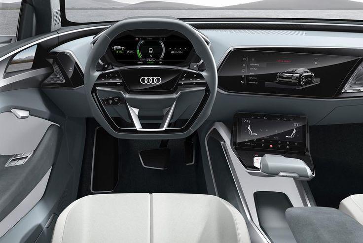 You like the @Teslamotors interior better? Really? Audi e-tron Sportback concept cockpit -- #Audi #etronsportback concept #AutoShanghai #Audishanghai photo Audi / edit @audidriven ---- oooo #audidriven - what else ---- #Audietron #etron #quattro #china #audichina #shanghai #marclichte #audidesign #audiconcept #sportback #chargedwithexcitement