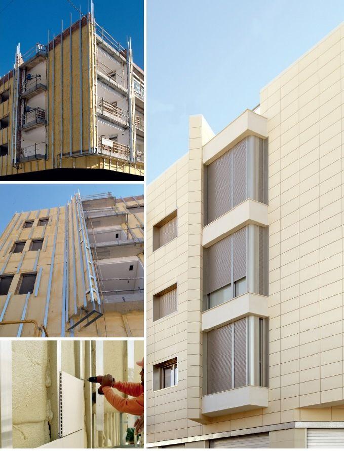 Вентилируемые фасады – это особая технология отделки наружных фасадов, состоящая из облицовочных материалов, которые крепятся на стальную оцинкованную, стальную нержавеющую или алюминиевую подсистемы к несущему слою стены. По зазору между облицовкой и стеной свободно циркулирует воздух, который убирает конденсат и влагу с конструкций. Все элементы крепления вентилируемой фасадной системы являются универсальными, что позволяет решать сложные архитектурные и конструкторские задачи.
