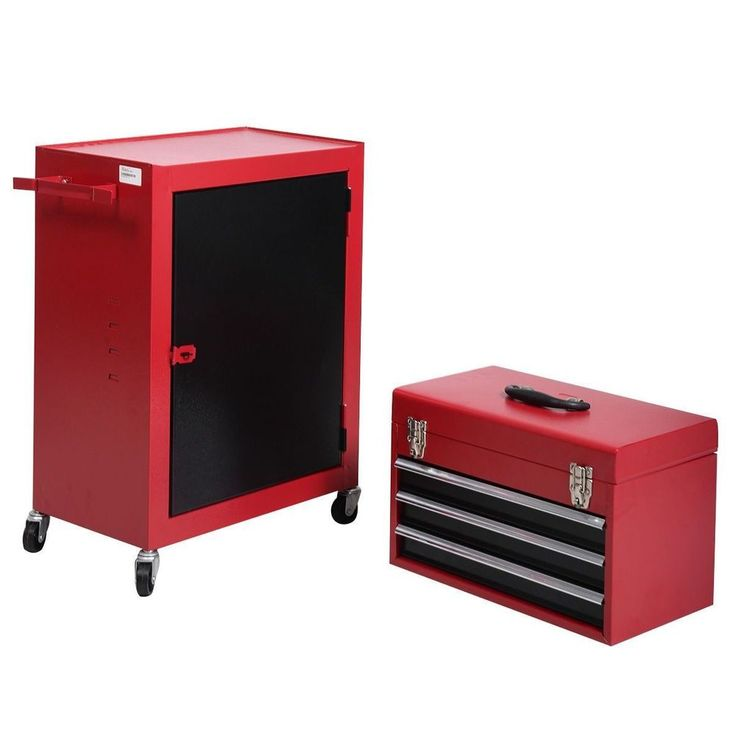Portable Top Chest Rolling Tool Storage Box Cabinet Sliding Drawers Garage Home #PortableTopChest