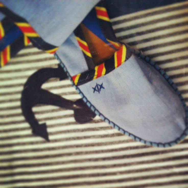 Escadrille handmade espadrilles! Fresh touch for Christakis Athens!