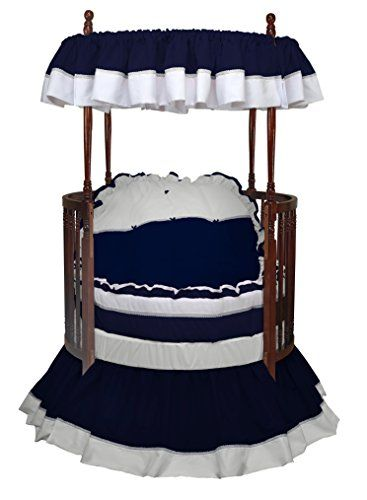 Baby Doll Bedding Regal Round Crib Bedding Set Navy https://woodbunkbedsforkids.info/baby-doll-bedding-regal-round-crib-bedding-set-navy/