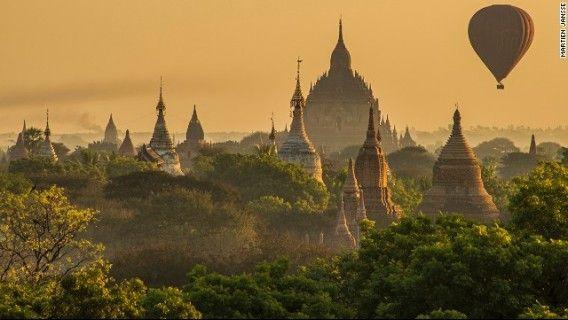 「バガン」ミャンマー ニューバガン Myanmar
