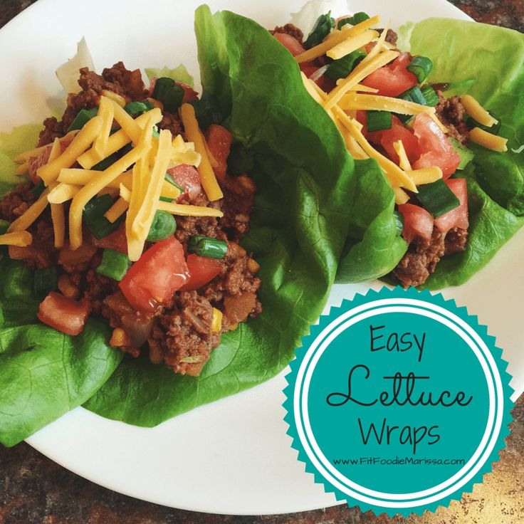 These healthy lettuce wraps are super easy and are quick to make after a long day at work - easy weeknight dinners