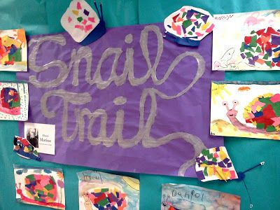 Art Julz: Snail Trails with Matisse
