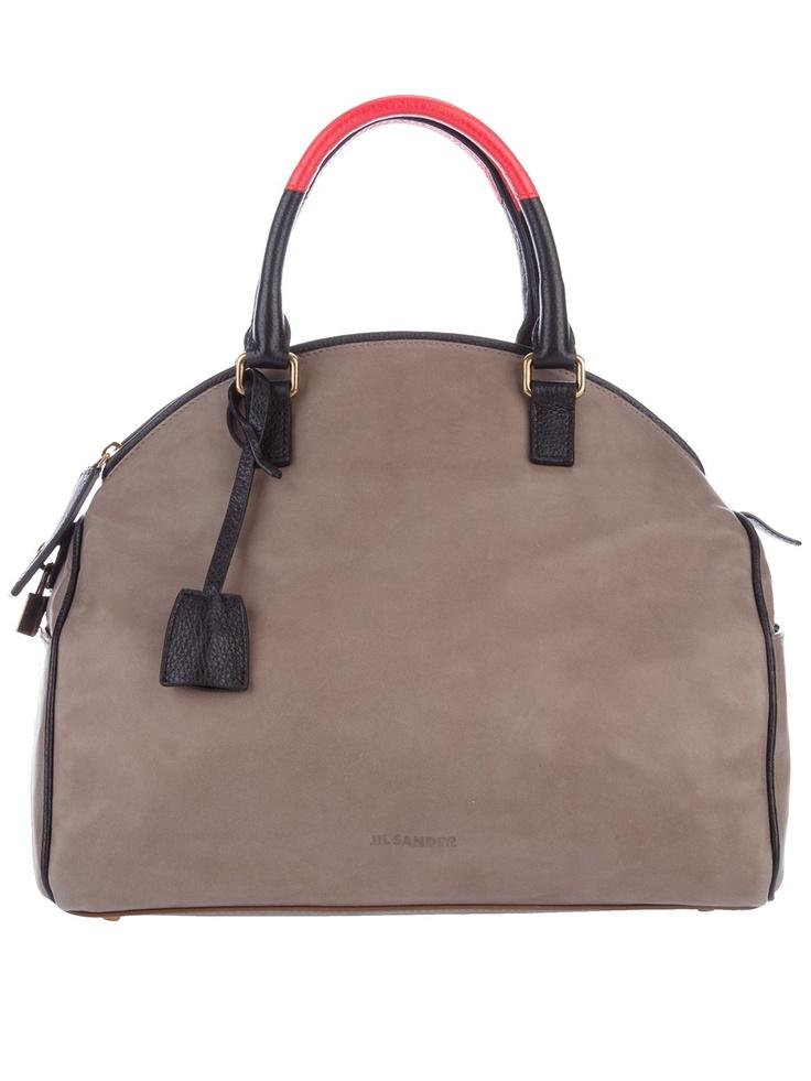 Jil Sander Structured Bag #r29summerstyle