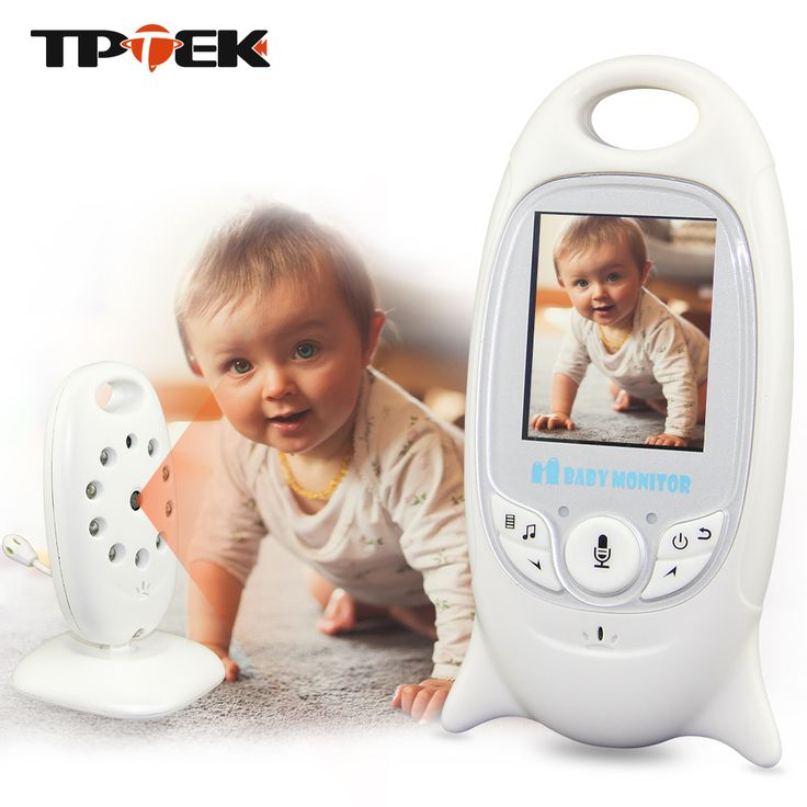 2 inch Color Video Wireless Baby Monitor Security Camera Baba Electronic Radio Video Nanny Night Vision Temperature Babysitter #Affiliate