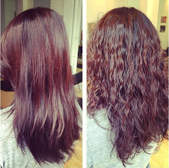 72 best perms waved images on pinterest for C curl perm salon vim