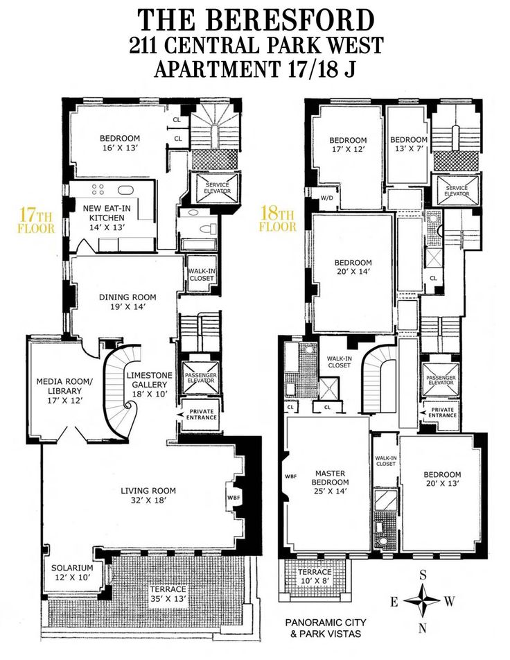 At 211 On Studio Apartment Floor Plans New Yorkluxury New York City 13